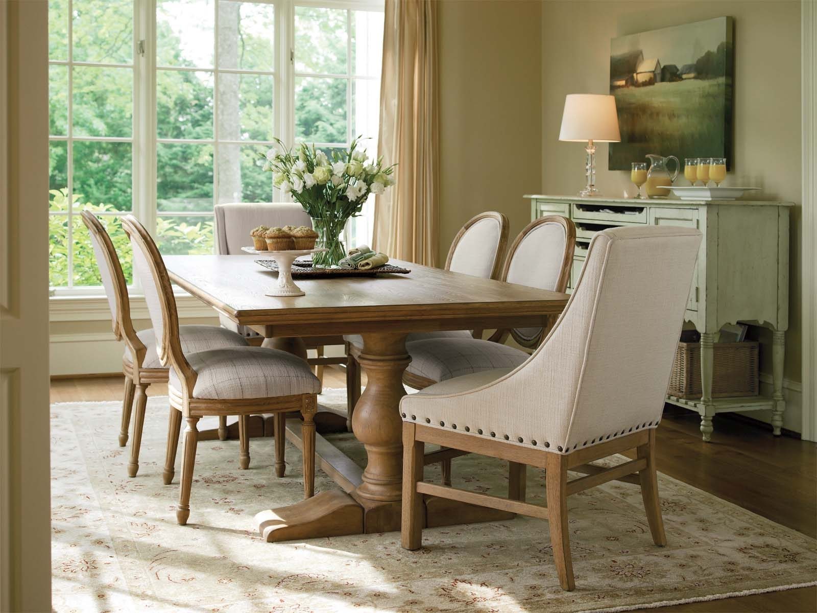 French Style Table And Chairs Home Trends Ideas Regarding Grey Dining Chairs With Farmhouse Dining Table Grey Dining Chairs With Farmhouse Dining Table - Modern Dining Chairs