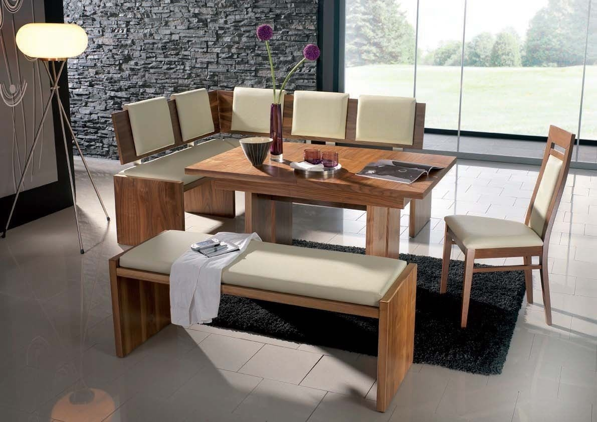 New Corner Booth Dining Set Table Kitchen Corner Table Intended For Bench For Dining Room Table Bench For Dining Room Table - Dining Room Tables